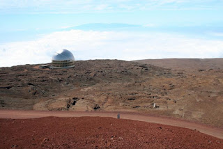 Artist's concept of Thirty Meter Telescope, Courtesy TMT International Observatory
