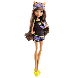 MH Dead Tired Clawdeen Wolf Doll