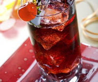 Cherry Cola Cocktail