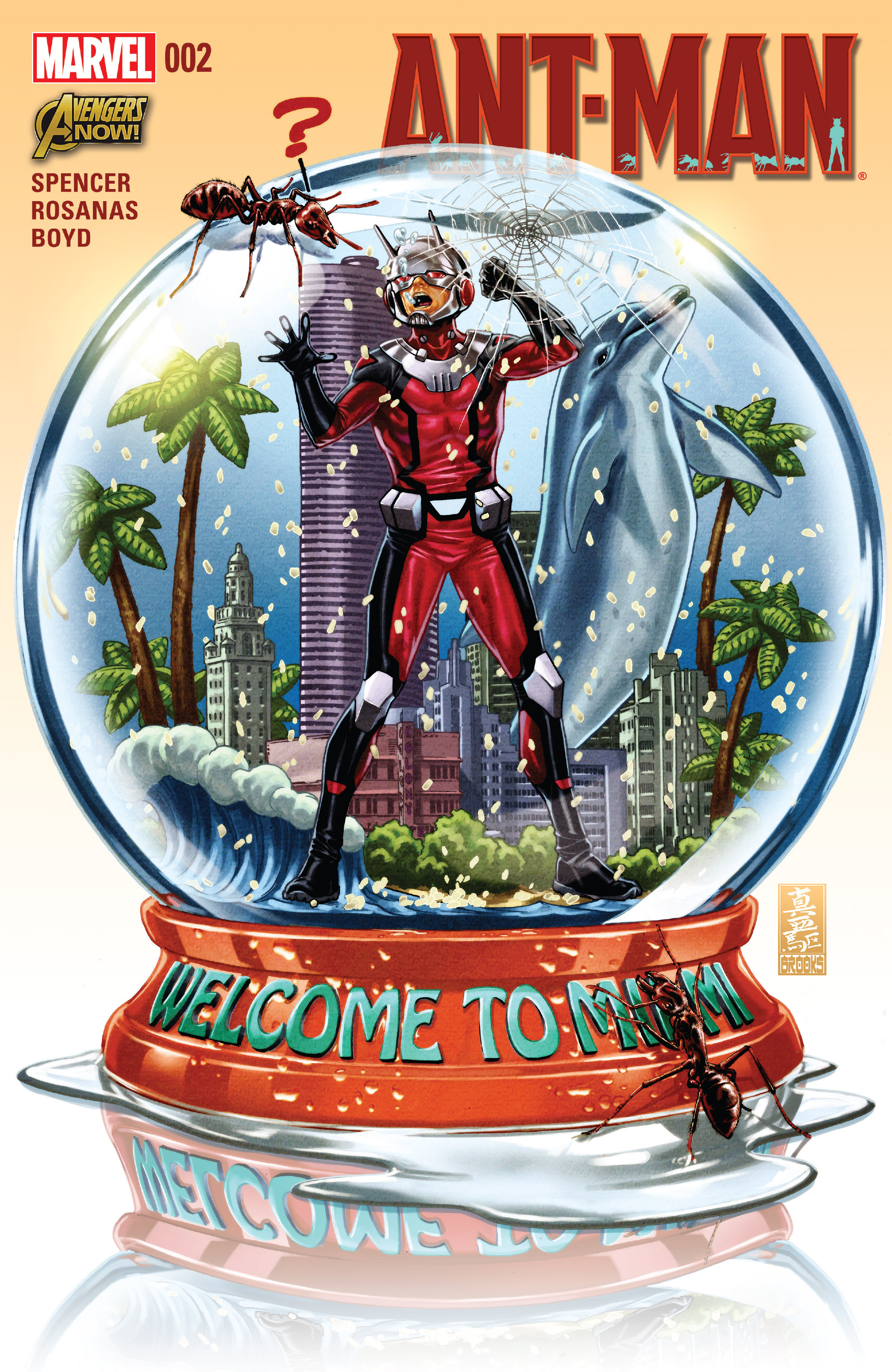 Read online Ant-Man comic -  Issue #2 - 1