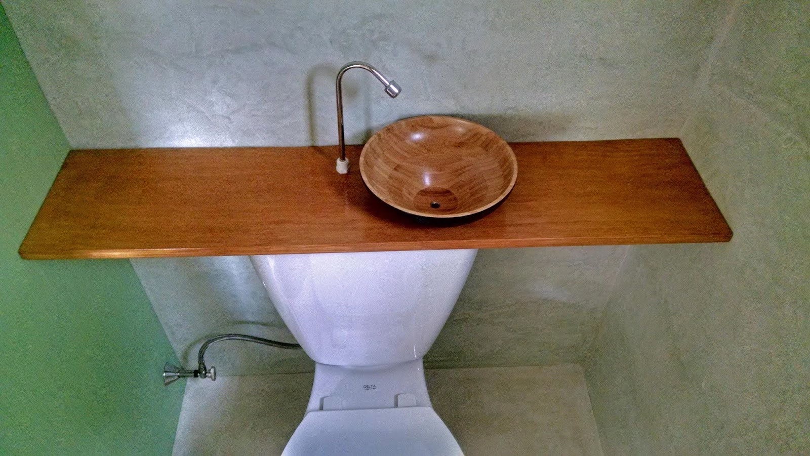 Dumb Home - Centreville MD: Toilet Hand-Wash Basin