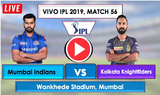 MI vs KKR Live Streaming Online free, MI opted to field