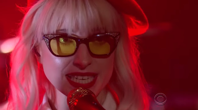 "Paramore Perform ""Told You So"" On Late Late Show"