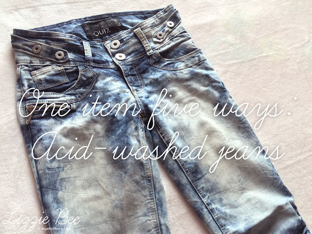 acid washed jeans outfits