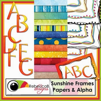 Sunshine Frames Papers & Alpha