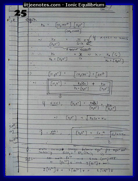 Ionic Equilibrium Notes9