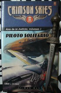 Portada del libro Piloto solitario, de Loren L. Coleman