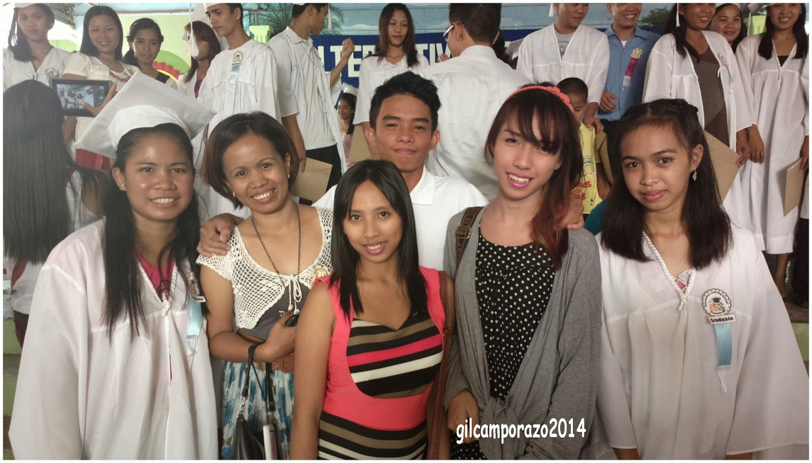 Mam Geeree with her successful examinees