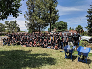 Group shot of most of our volunteers, San Jose, California