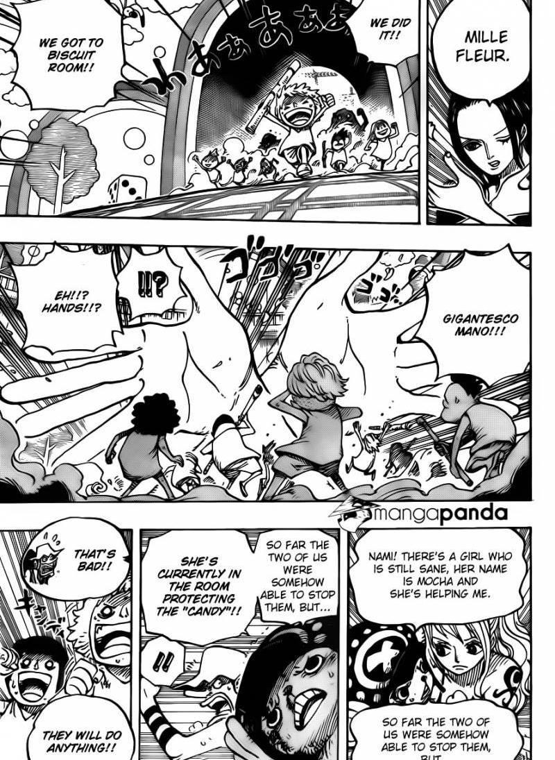 One Piece 683 : The Ice-Like Lady