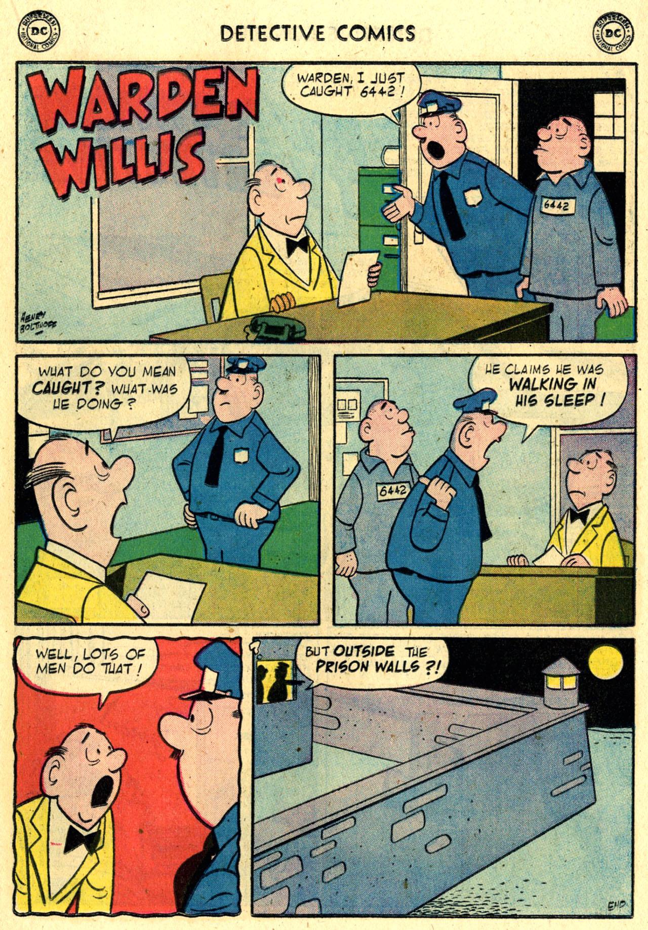 Read online Detective Comics (1937) comic -  Issue #245 - 17