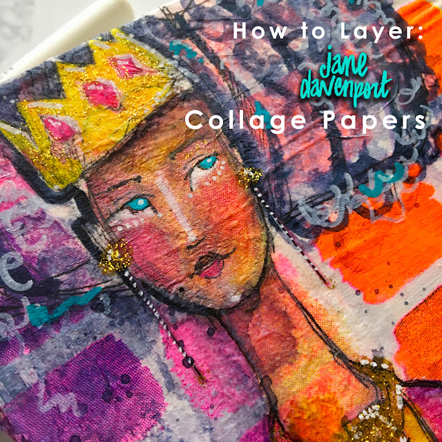 Tutorial: How to Layer with Collage Paper