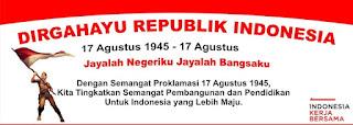 Contoh Proposal 17 Agustus Dalam Rangka Hari Kemerdekaan RI Lengkap Dengan Biaya