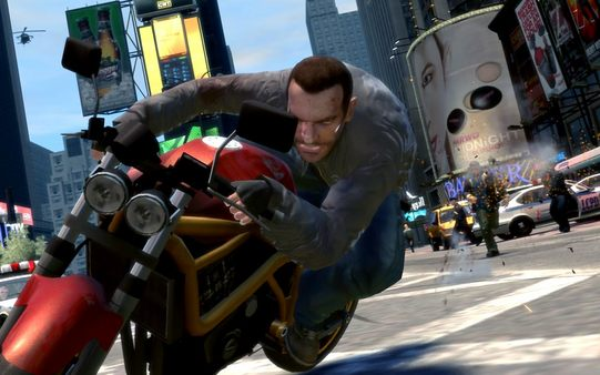 Grand Theft Auto IV Game Play