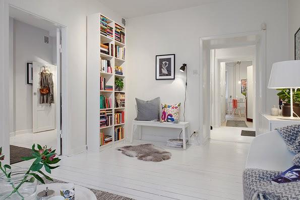 Aprovechar rincones para espacios lectura
