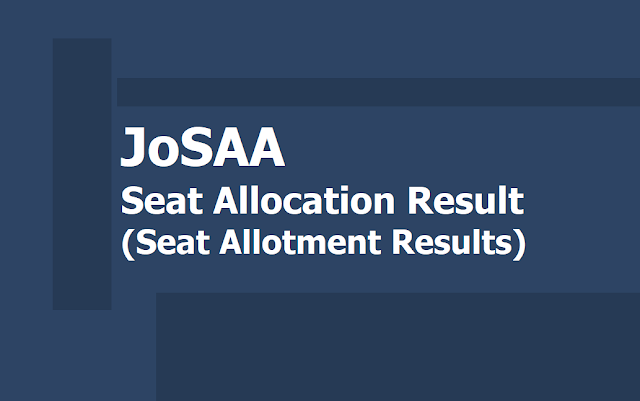 JoSAA Seat Allotment 2019: Fifth Round Seat Allocation Result released at josaa.nic.in