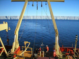 Front of Ross Ice Shelf