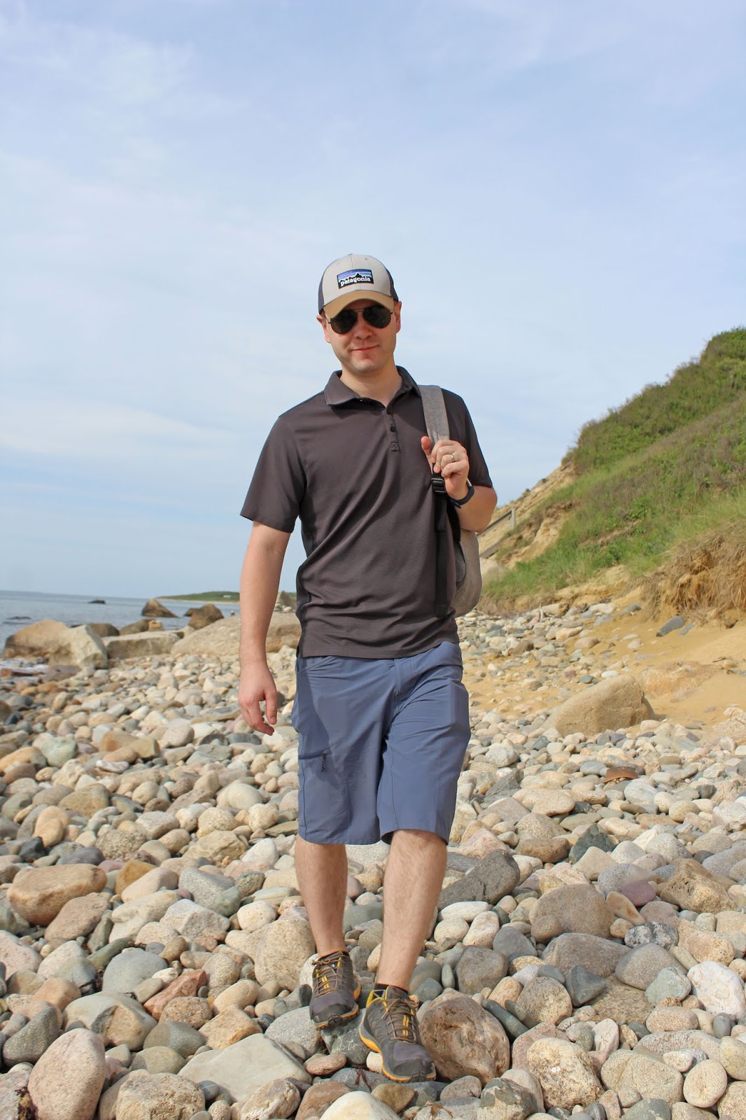 hiking to a secluded beach 11