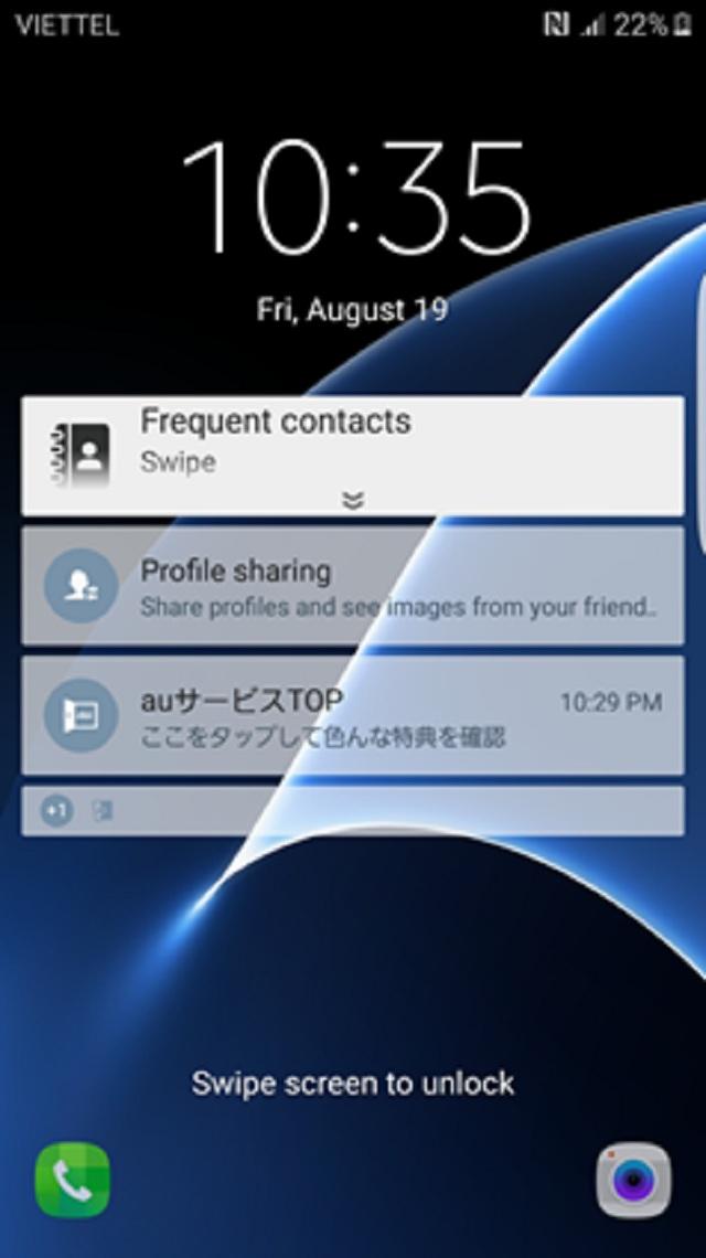 Unlock Samsung S7 Edge SCV33 AU KDDI Nhật chuẩn