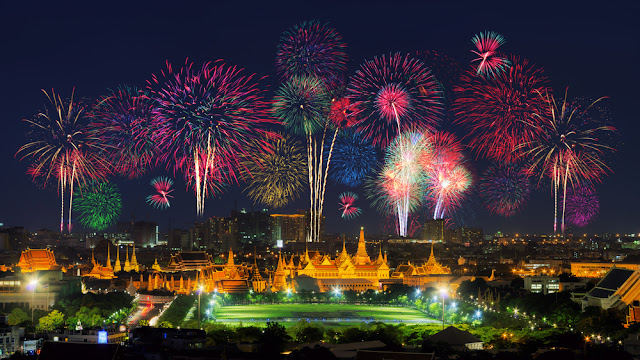 Bangkok happy new year 2018 images