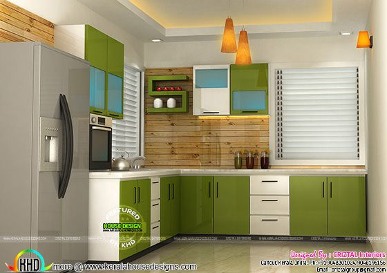 Kitchen interior by Criztal Interiors