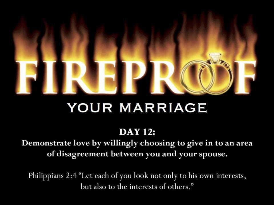 Fireproof My Marriage 40 Days