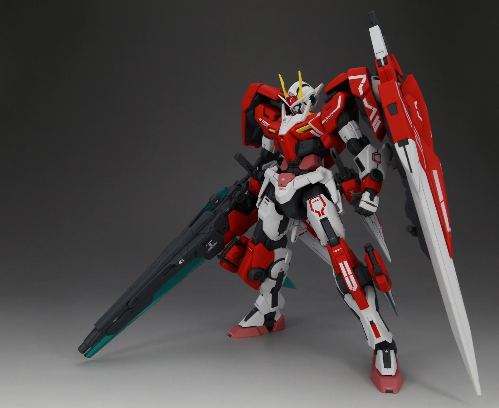 Gundam Family P Bandai Hobby Online Shop Exclusive Mg 1 100 00 Gundam Seven Sword G