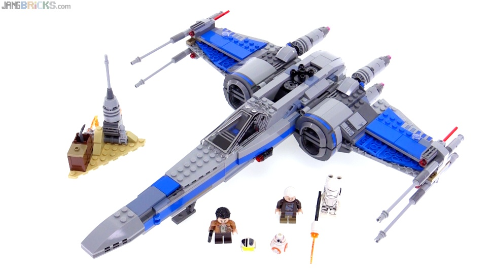 Lego Star Wars Resistance X Wing Fighter Review 75149