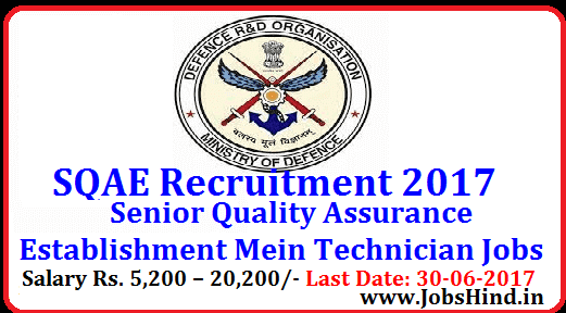 SQAE Recruitment 2017