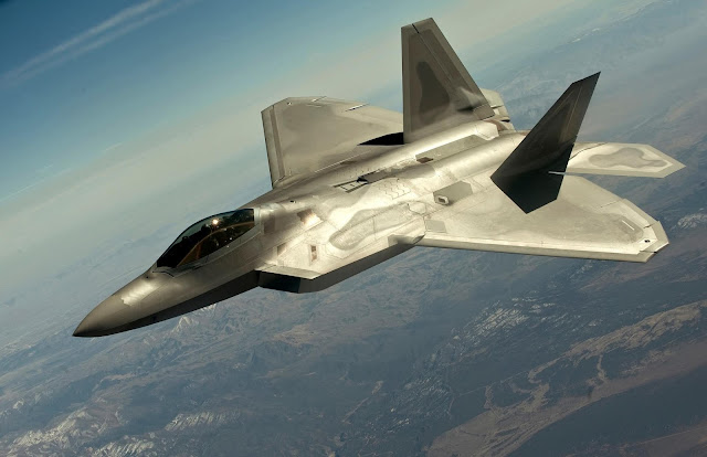 Download Full HD Wallpaper of Lockheed Martin F-22 Raptor Wallpapers-4
