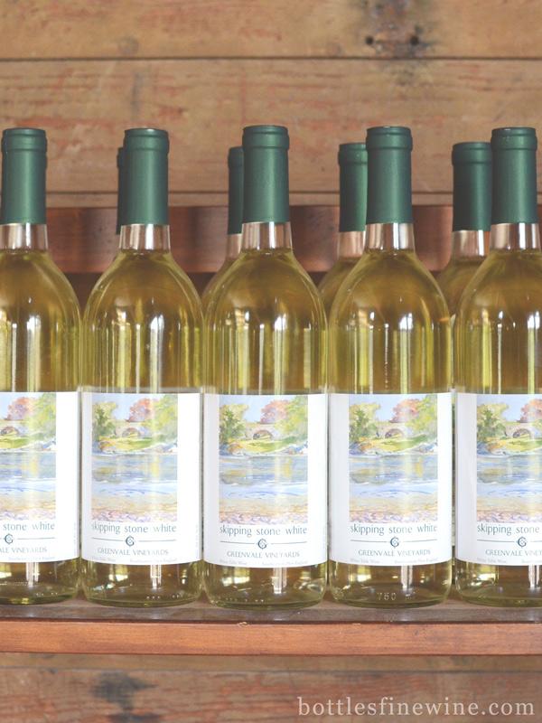 skipping stone white wine greenvale vineyards