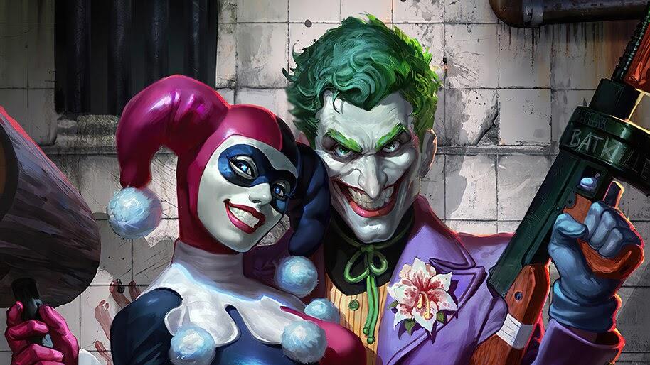 Joker, Harley Quinn, DC, 4K, #4.2296
