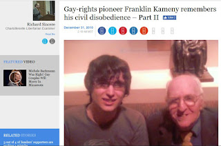 Alex Knepper Franklin Frank Kameny gay pride month