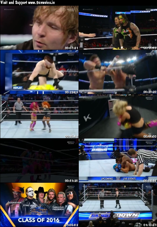 WWE Thursday Night Smackdown 03 March 2016 HDTV 480p
