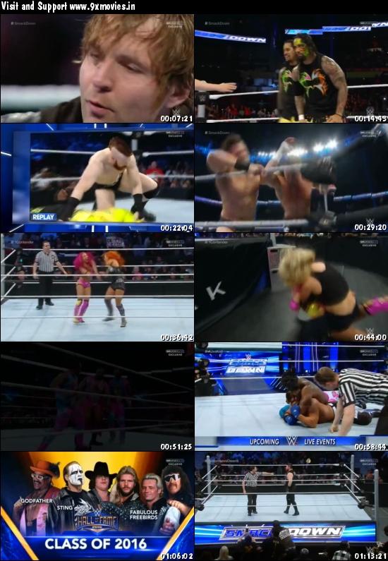WWE Thursday Night Smackdown 03 March 2016 HDTV 480p