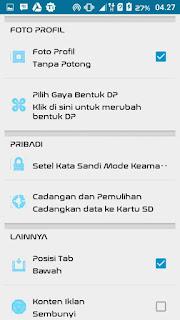 BBM MOD Tema Originally Mix Max Version 3.0.0.18 Apk Terbaru
