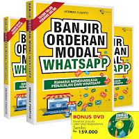 buku Banjir Orderan Modal Whatsapp