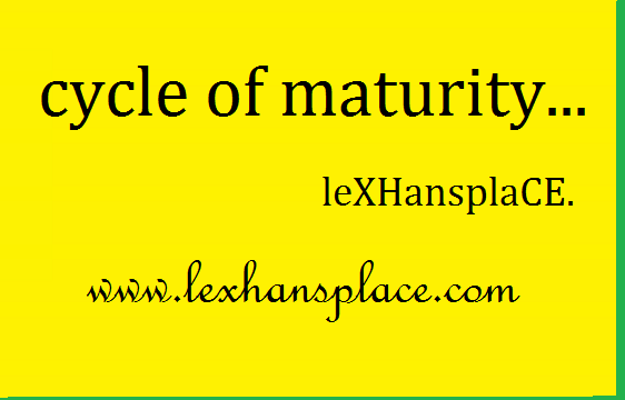 CYCLE OF MATURITY FOR LEXHANSPLACE