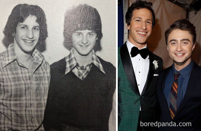 #3 What Andy Samberg And Daniel Radcliffe Would've Looked Like In The 70s - 10 Celebrity Lookalikes That Prove Time Travel Exists