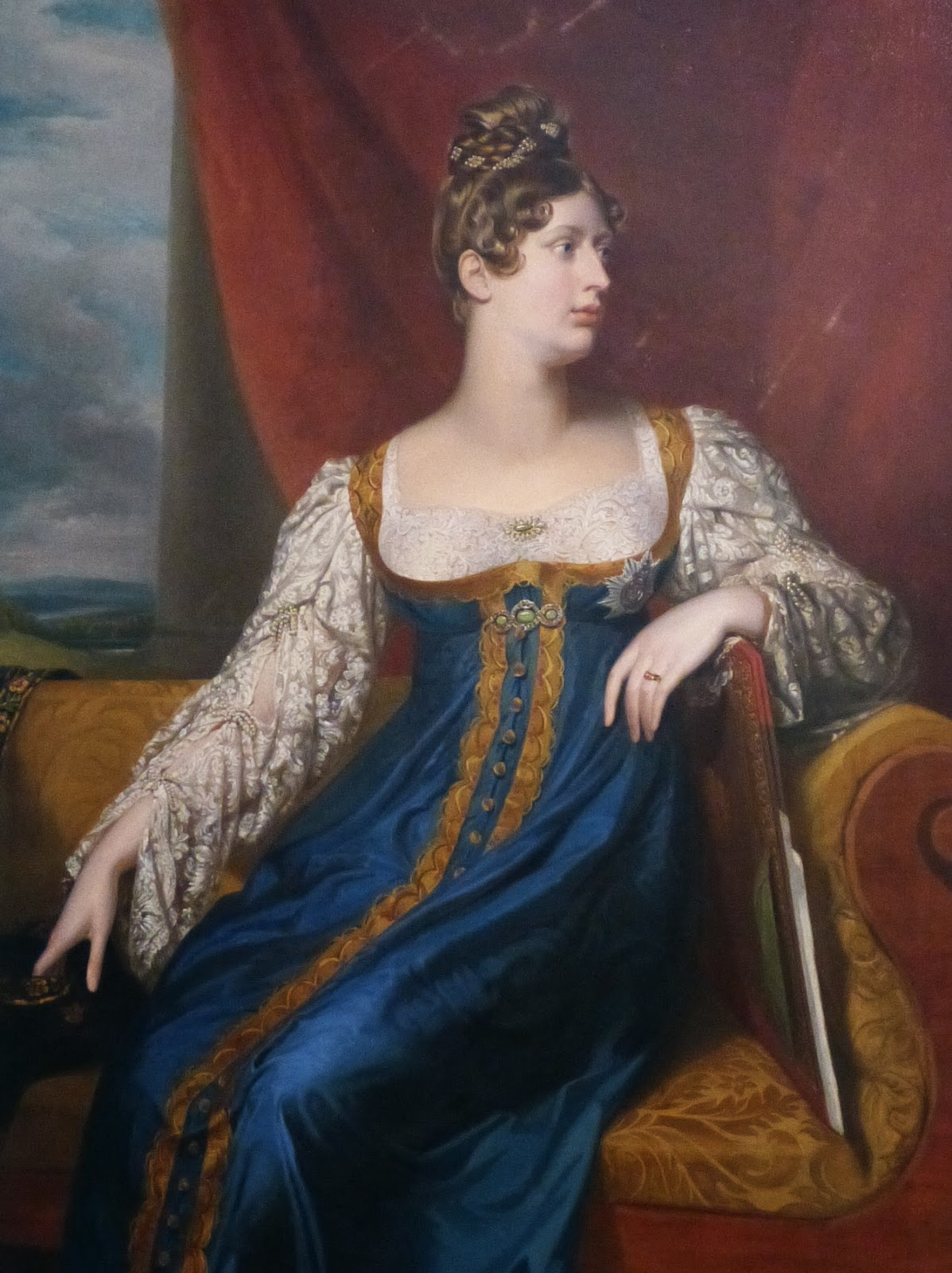Princess Charlotte by William Dawe (c1817)  at the National Portrait Gallery, London