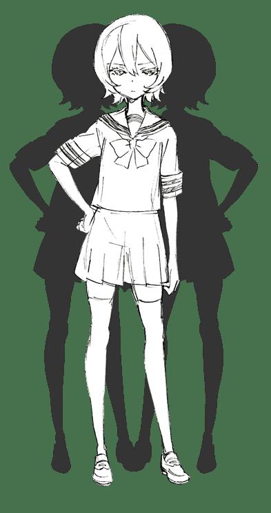 Himika Akaneya como Tsuyuno Yatsumura