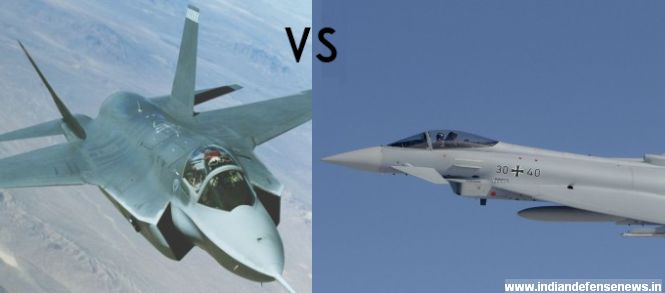 F-35 vs. Eurofighter Typhoon: Which Fighter Will Dominate ...