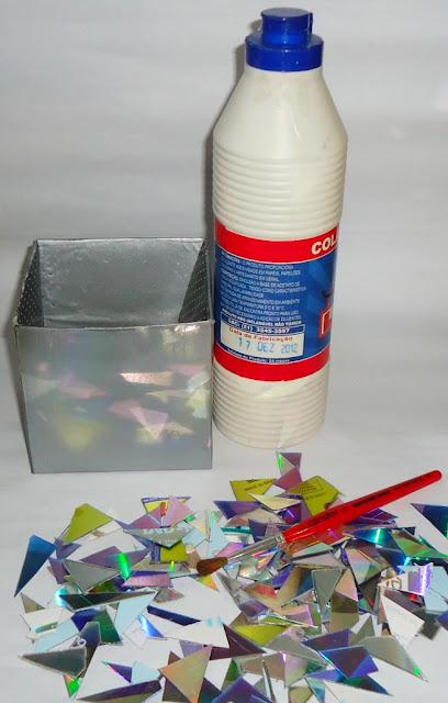 mosaico de CD - Tatianne Carvalho