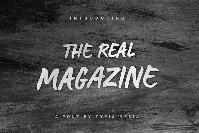 The Real Magazine Download Font Free
