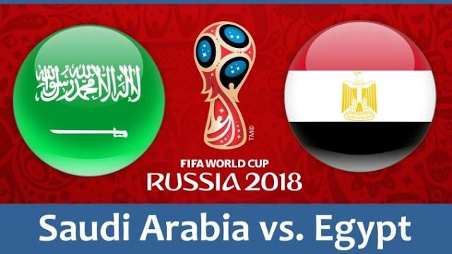 Saudi Arabia vs Egypt Full Match Replay 25 June 2018