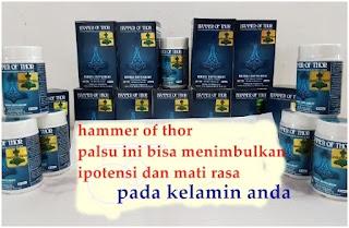 Ciri-Ciri Hammer Of Thor Palsu 4