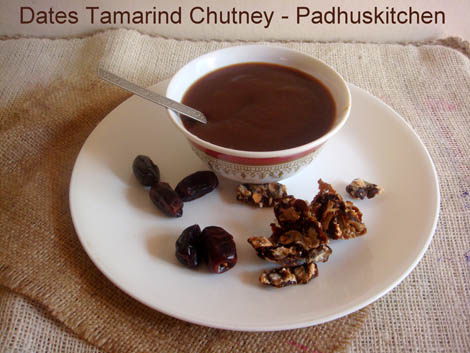 Sweet Chutney-Tamarind Date Chutney