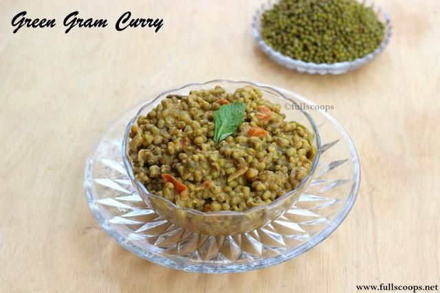 Green gram curry