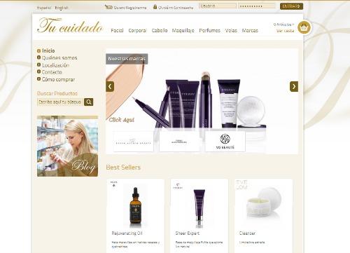 web tu cuidado perfumería