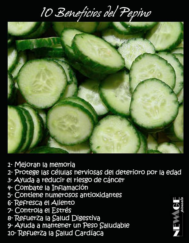 beneficios de pepino verde